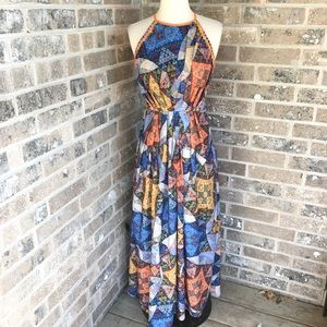 ANTHROPOLOGIE Ranna Gill Condesa Maxi Dress XSP